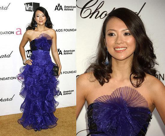 Elton John AIDS Foundation Oscar Party: Ziyi Zhang