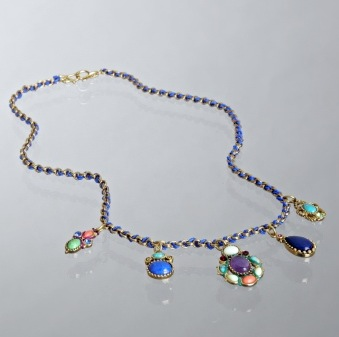 Fab Finger Discount: Lee Angel Woven Pendant Necklace