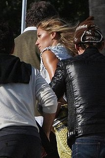 Gisele Bundchen Shooting for V Magazine on the Beach in Malibu