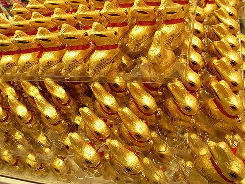All hail the Lindt bunny