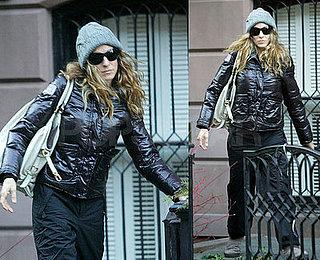 SJP Wrapped Up in Winter Wear