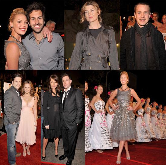 Katherine Heigl at 27 Dresses Premiere