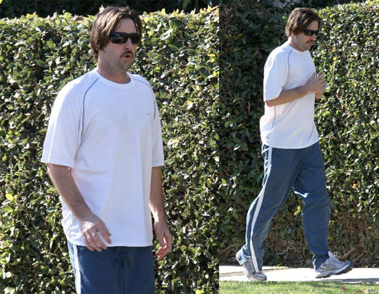 Luke Wilson Out For a Jog in Santa Monica While Blonde Ambition Goes Straight to DVD