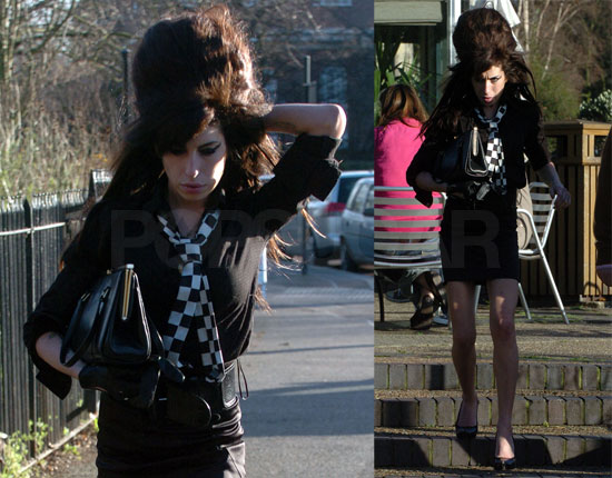 Amy Winehouse Enters Rehab . . . For Real This Time?