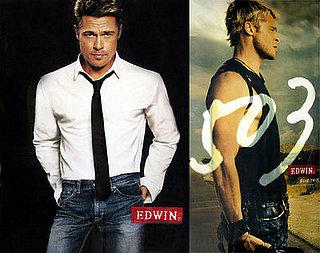 Brad Pitt Edwin Jeans Ad