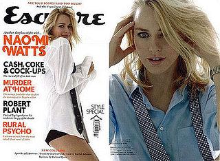 Naomi Watts in Esquire Magazine