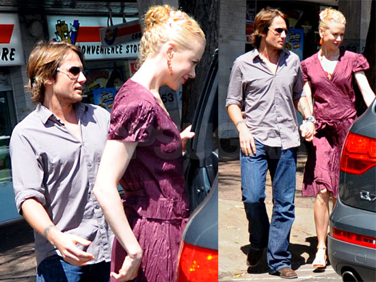 Nicole Kidman and Keith Urban Shopping for Baby Clothes in Australia, February 12 2008