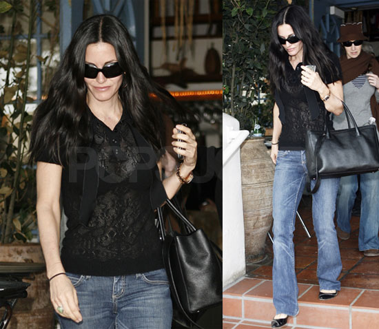 Courteney Cox Is Ready To Tackle Today's Tabloid Headlines
