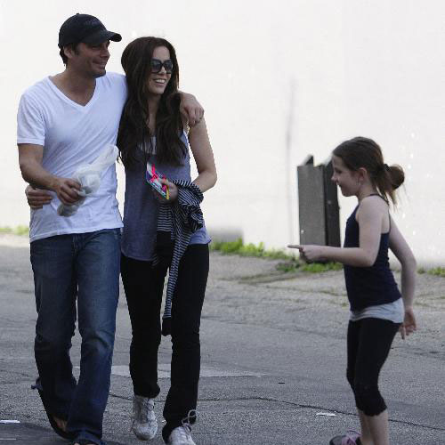 Kate Beckinsale and Family in LA