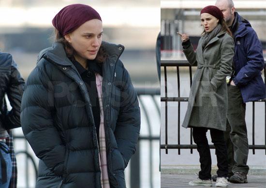 Natalie Portman On The Set Of New York, I Love You 2008-03-13 08:30:00