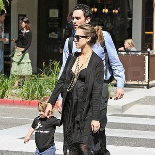 Jessica Alba Spends Time with Her Nephew