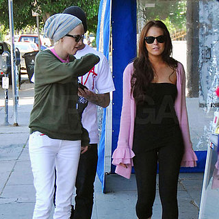 Lindsay Lohan and Samantha Ronson Out in LA 2008-03-28 16:54:48