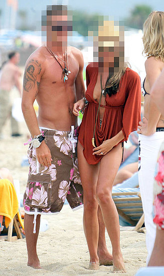 Celebrity Couples in Bikinis on the beach