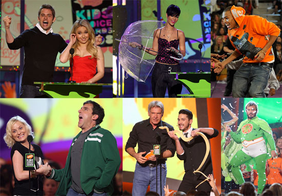 It Was Another Slimy Kids' Choice Awards