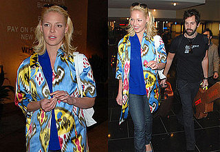 Heigl Gets to Play Housewife While Josh Hits the Road