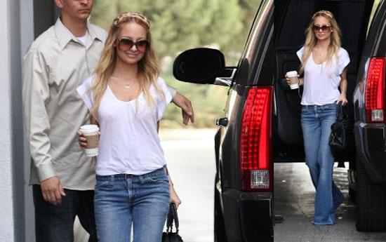 Nicole Richie Attending Driving School in LA