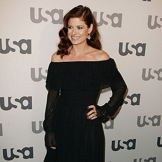 Debra Messing at the USA Lineup of Stars