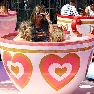 Kate Moss and Daughter Lila Hack at Disneyland