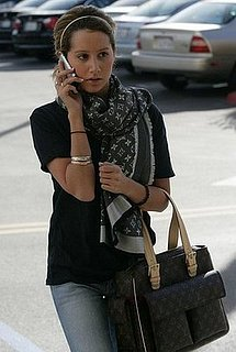 Ashley Tisdale Shopping in LA