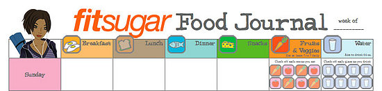 Free Downloadable Food and Fitness Journals
