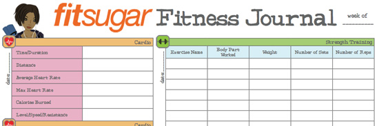 Fit Tip: Take Your Fitness Journal to the Gym