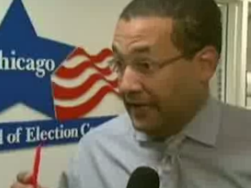 Voters Used Invisible Ink to Mark Ballots in Chicago's Presidential Primary