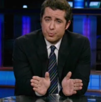 The Daily Show Reports on the Douche Vote