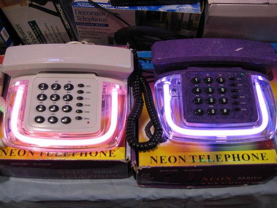 Neon Telephones: Totally Geeky or Geek Chic?