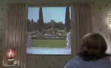 Window Shade Flat Screen