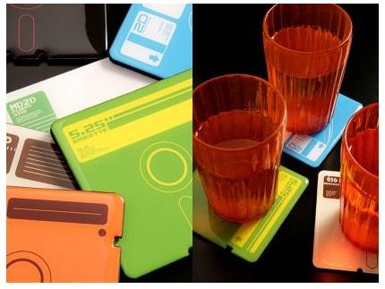 Floppy Disk Coasters: Totally Geeky or Geek Chic?