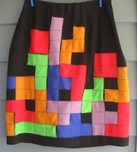 Daily Tech: Confess Your Tetris Love Via a Homemade Skirt