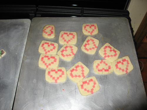 Yummy Link: Tetris Cookies