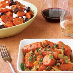 Sunny Side: Braised Carrots with Orange and Capers