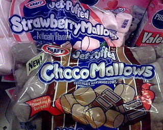 Chocolate and Strawberry Flavored Marshmallows