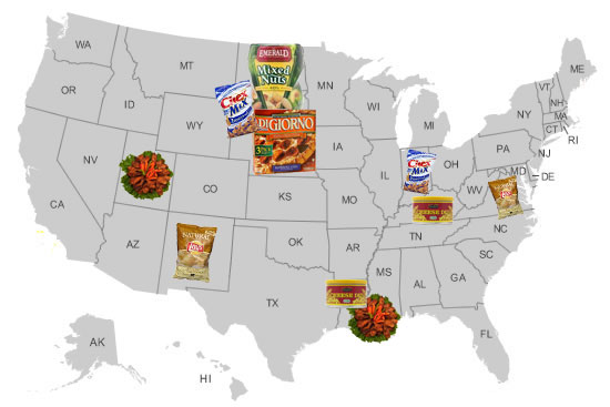 "Find Out Which States Eat the Most ""Football Food"""