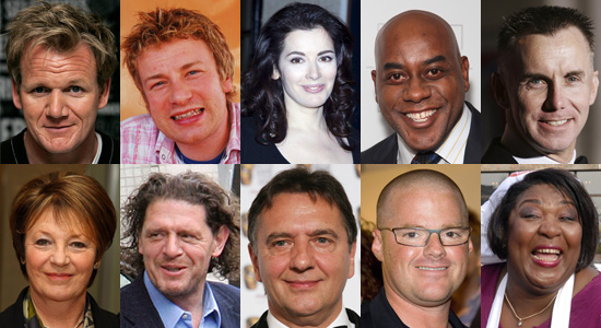 Who's Your Favorite British Celebrity-Chef?