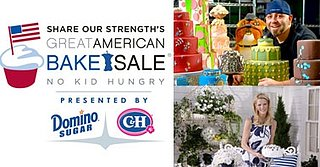 Sandra Lee and Duff Goldman Team Up With Share Our Strength to Present the World's Largest Bake Sale