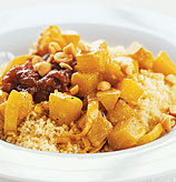 Fast & Easy Dinner: Butternut Squash with Couscous