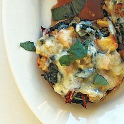 Monday's Leftovers: Cheesy Stuffed Portobellos