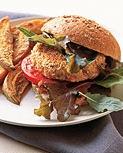 Monday's Leftovers: Salmon Burgers