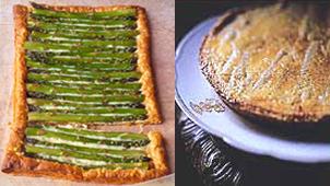 Asparagus Tart Two Ways — Beginner and Expert