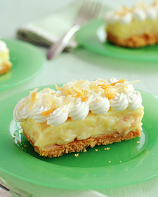 Smooth and Scrumptious Coconut Cream Bars