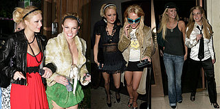 Britney and Paris Tie for Worst Dressed