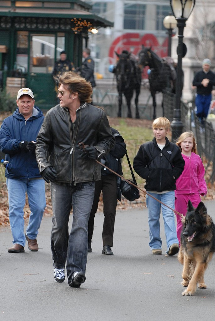Who's Walking Who: Billy Ray Cyrus