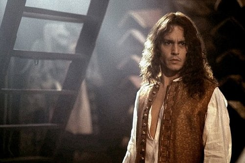 A Picture of Johnny Depp in Libertine!