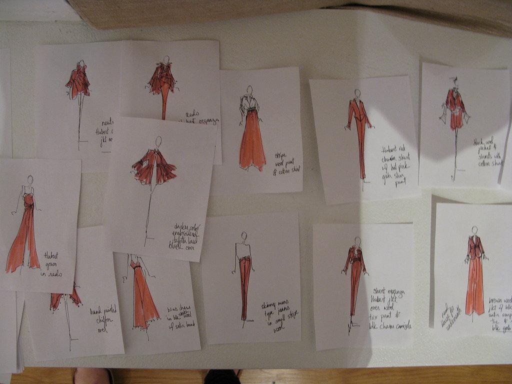 A Visit To Sylvia Heisel's Studio Pre-F/W08