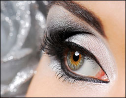 Silver Eye Makeup-Serve Up Some Sparkle with Silver Eye Makeup!