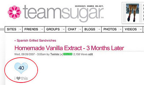 How do I add a Sugarloving heart to my blog?  Watch this slideshow!