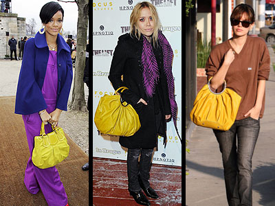 YELLOW PURSE -- Love It Or Leave It?