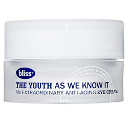 Tuesday Giveaway! Bliss The Youth As We Know It Eye Cream